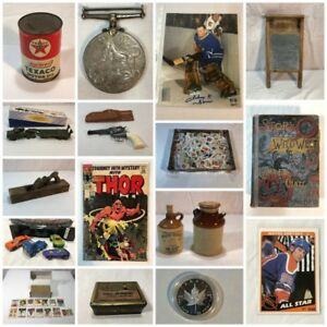 Large Online Collectibles Auction