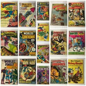 Vintage Comic Books - Coins & Banknotes - Diecasts