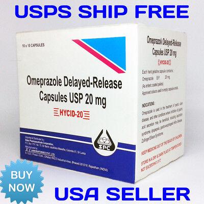 OTC Omeprazole 100ct 20mg capsules  Acid Reflux, Heart Burn (Burn Treatment)