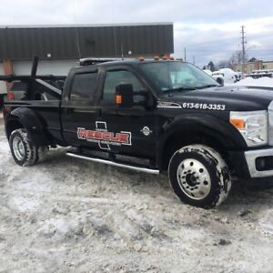 2016 FORD F450 - Self Loader - Tow Truck
