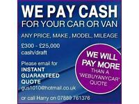 Van sold!