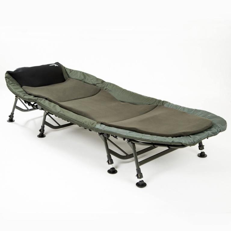 Mostal 8-Bein Luxus Karpfenliege Bedchair Anglerliege Angelliege Liege Feldbett