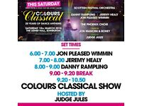 2 x Colours Classical at usher hall sat 10 March £75