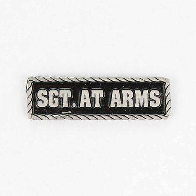 Biker Motorrad Club Member MC Sergeant At Arms Chief Pin Anstecker Anstecknadel