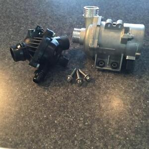 Complete Electric Water pump Assembly Kit for BMW At BBW