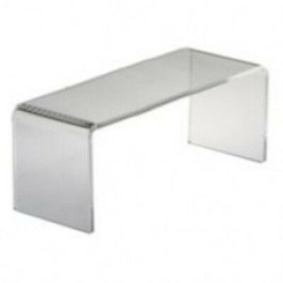 Black Cube Counter Top 8 X 6 Acrylic Riser Display Stand