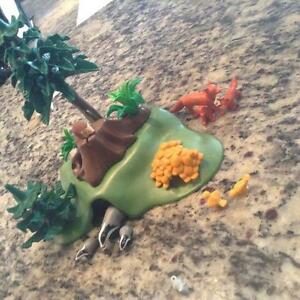 Playmobil  Forest Animals with Cave (#4204)