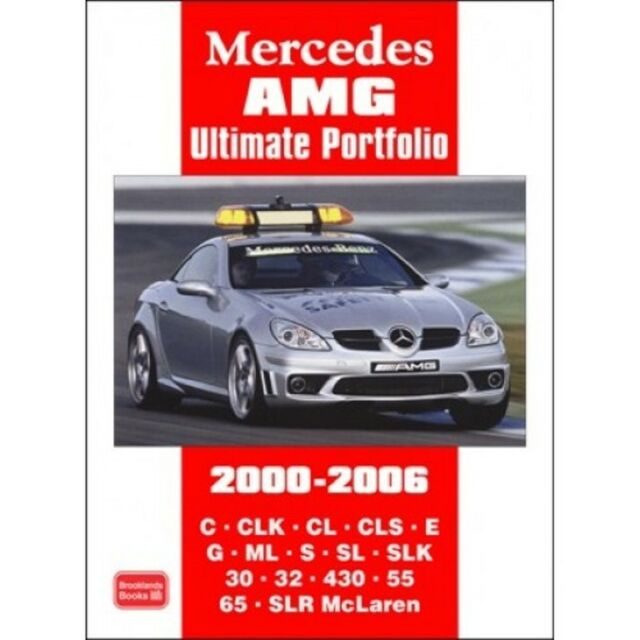 Mercedes AMG Ultimate Portfolio 2000-2006 book paper