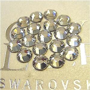36-Swarovski-Rhinestones-Flatback-CRYSTAL-CLEAR-Choose-Your-Size-Style-2058