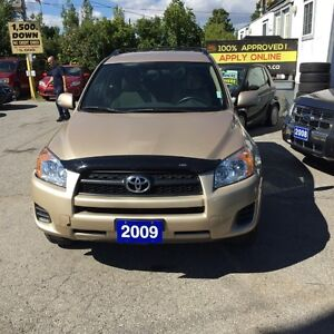 2009 Toyota RAV4 JUST ARRIVED- FULLY CERTIFIED WELL MAINTAINED A