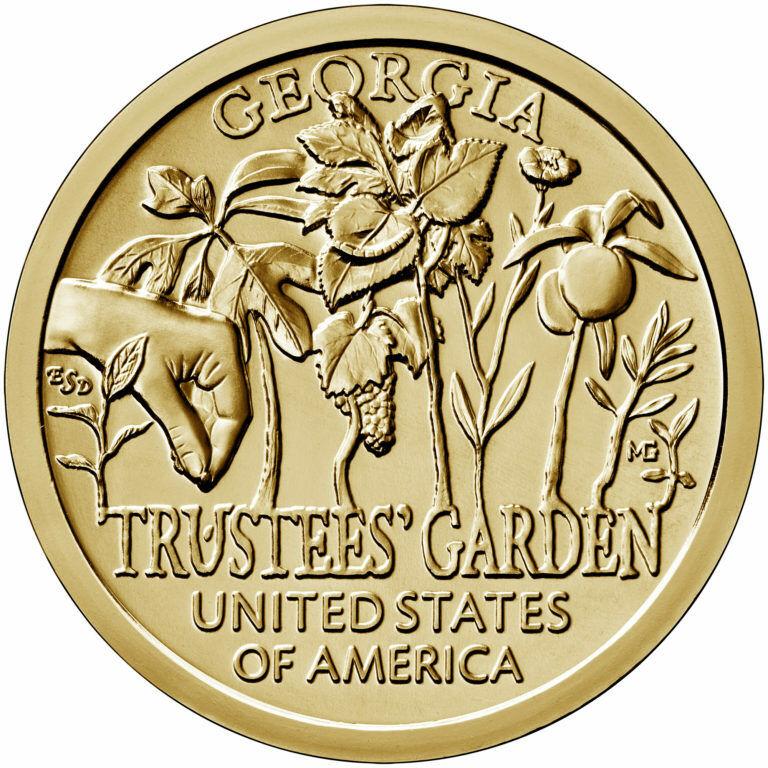 Trustee/'s Garden Georgia BU 2019 P $1 American Innovation