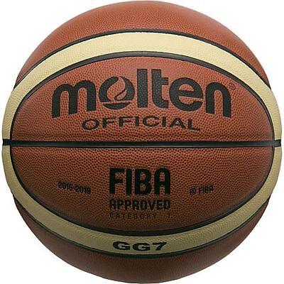 Molten Basketball Gg7 Official Fiba Indoor Composite  Size 7