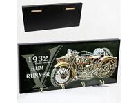 Schlüsselbrett Schlüsselhalter Foto Schlüsselkasten Individuell Harley Davidson