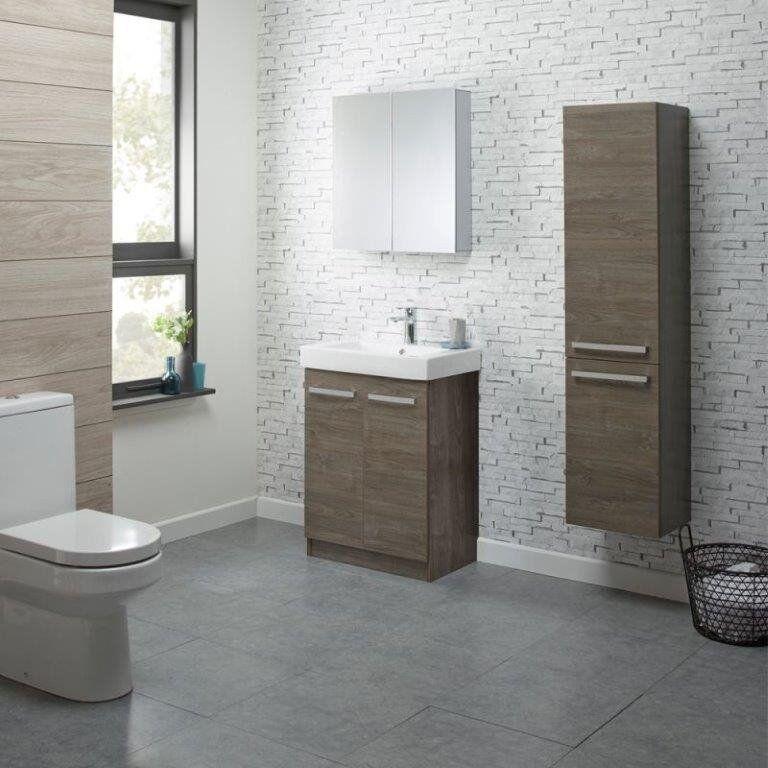 Roper Rhodes Ninety Bathroom Wall Column Cabinet New In