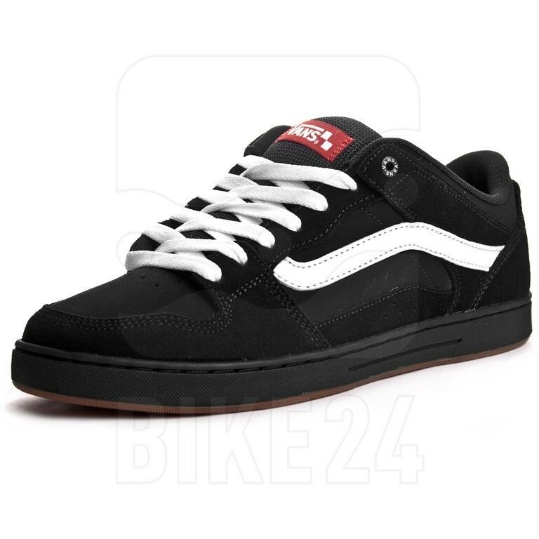 d9a3cd1616 Мужская спортивная обувь NIB Vans BAXTER BLACK   WHITE   GUM Men SIZES 8-13  Skate Sneaker Shoes