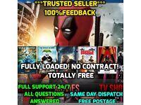 Amazon Fire stick Fully Loaded KODI, EXODUS, Sports, Movies, TV