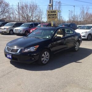 2010 Honda Accord FULLY CERTIFIED + E-TESTED - FULLY LOADED EX-L