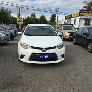 2015 Toyota Corolla FULLY CERTIFIED- BALANCE OF FACTORY WARRANTY