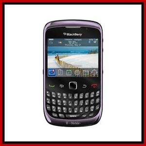 NEW UNLOCKED  BLACKBERRY 9300 CURVE 3G VIOLET T-MOBILE AT&T PURPLE SMARTPHONE