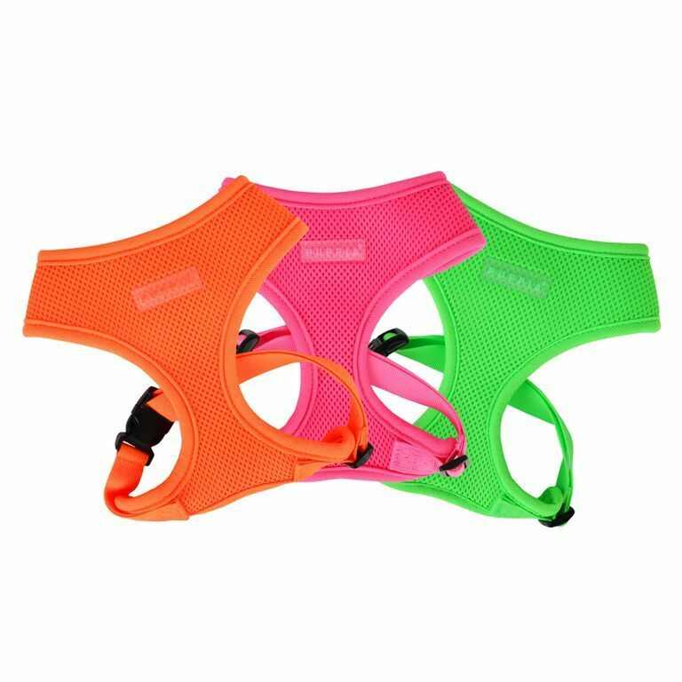 Dog Puppy Soft Harness - Puppia - Neon Collection - Choose S