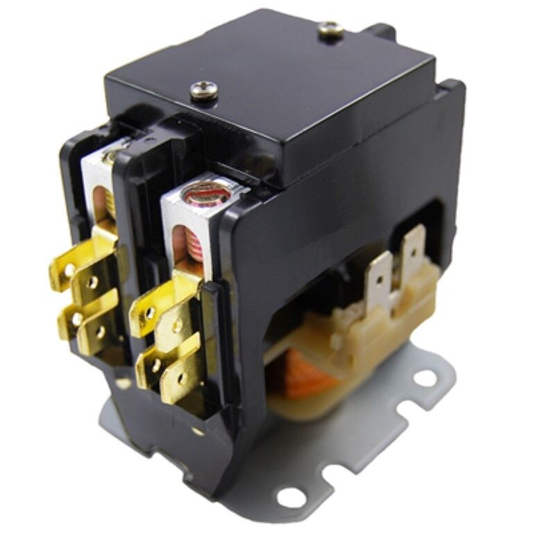 Cutler-Hammer Replacement Contactor 2 Pole 20 A 24V age C25BNB220T By Packard