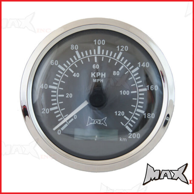 Universal 85mm GPS Analog Speedometer MPH / KPH For Mack Truck