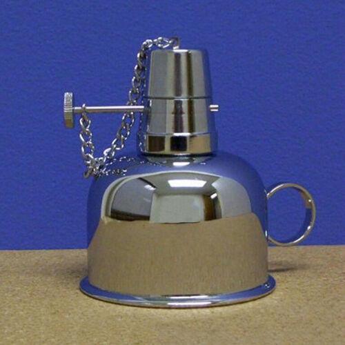 Nickel Plated Brass Alcohol Lamp / Burner