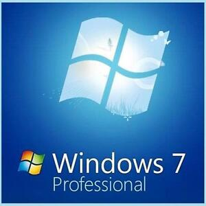 windows 7 professional 64 bit full version ebay. Black Bedroom Furniture Sets. Home Design Ideas
