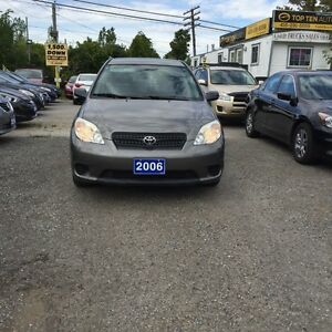 2006 Toyota Matrix FULLY CERTIFIED- EXCELLENT CONDITION