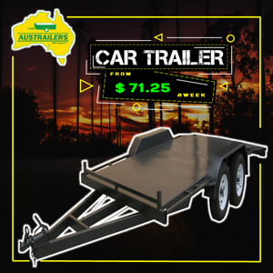 14x6'6 Vehicle carrier - Car trailer - Australian made - Quality