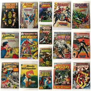Lots Of Old Comic Books