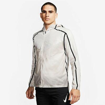 Men's Nike Tech Pack Running Jacket AQ6711-286 Moon Particle Black Repellent
