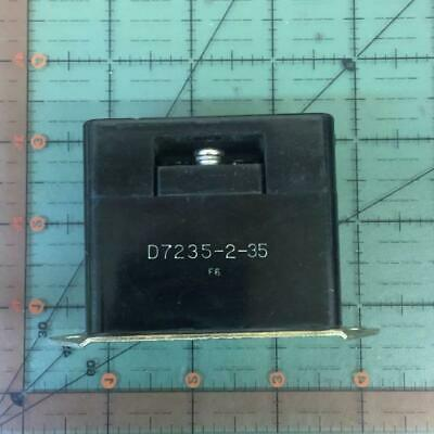 Klixon Overload Sensing Control D7235-2-35 35 Amp Aircraft Nos Free Shipping