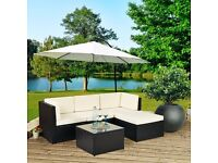 Brand New Luxurious 3 and 4 piece Rattan Garden / Conservatory Sets - RRP £600