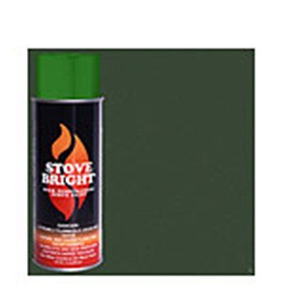 STOVE BRIGHT High Temperature Paint  Moss Green Green Stove Bright Paint