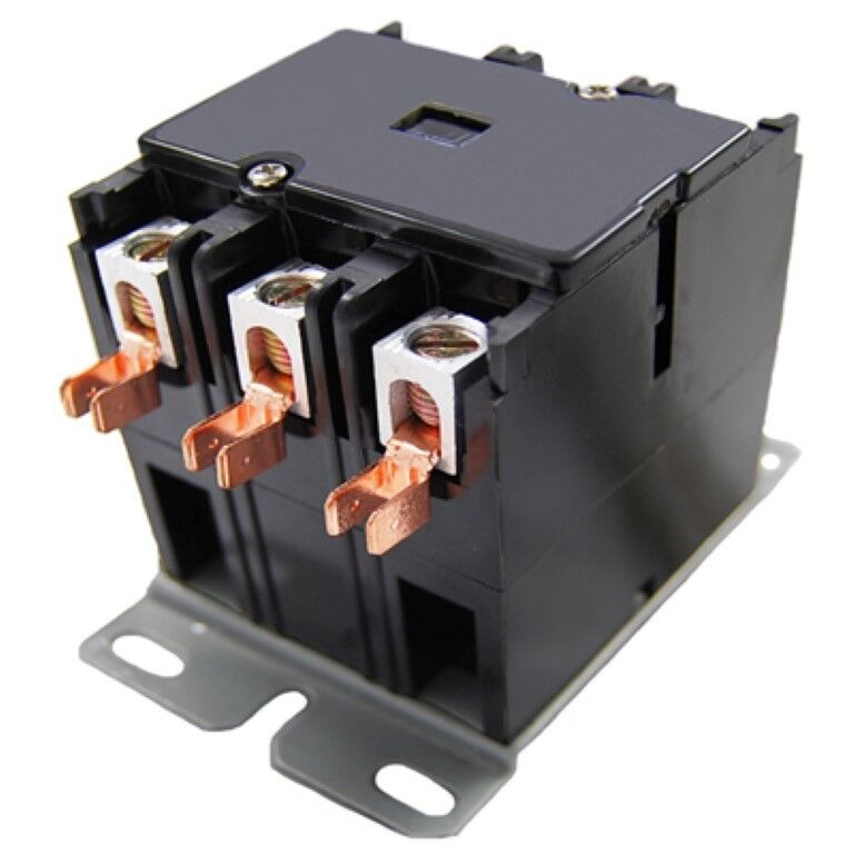 GE Replacement Contactor 3 Pole 25 A 208/240V age CR353AB3AB1AB By Packard