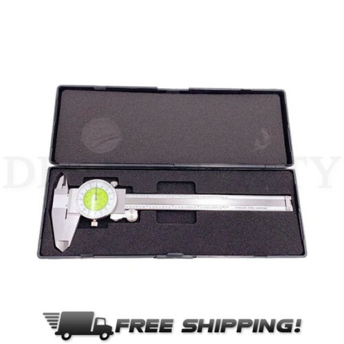 "iGaging 0-6"" Fractional & Decimal Inch Combination Dial Caliper"