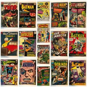 Comic Books & Tobacco Tins