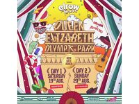 X1 VIP ELROW TICKET SUNDAY (OLYMPIC PARK) FOR SALE £90