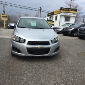 2013 Chevrolet Sonic Pre-Owned Certified- LS 37,000