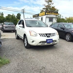 2013 Nissan Rogue FULLY CERTIFIED- WHITE/BLACK SPECIAL EDITION
