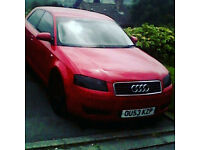 AUDI A3 2.0 TDI AUTOMATIC ,SPARES /PARTS ALL PARTS