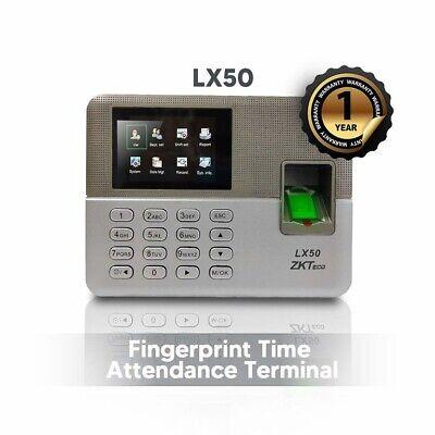 Zkteco Biometric Fingerprint Time Attendance Clock Build-in Ssr Excel Software