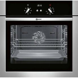 Neff B14M42N5GB Electric Single Oven - Stainless Steel