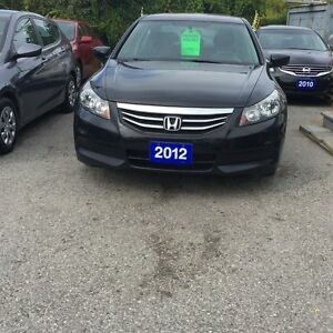 2012 Honda Accord FULLY CERTIFIED-SPECIAL EDITION MANUAL BLACK/B