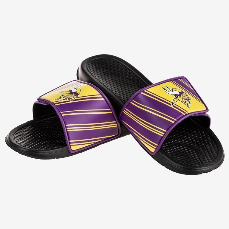 Mens NFL Football Legacy Sport Slide Sandals Flip Flops - Choose Team