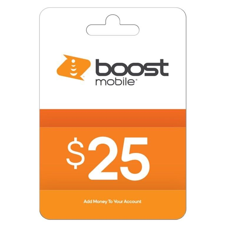 Boost Mobile $25 Re-Boost ePIN Recharge