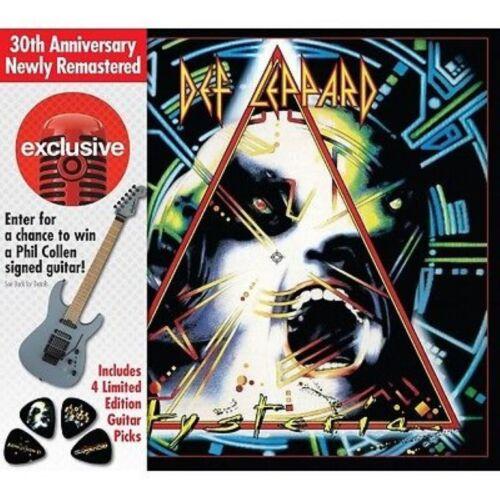 Def Leppard  Hysteria 30th Anniversary Target w/ guitar picks