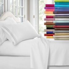 Egyptian Comfort 1800 Count 4 Piece Deep Pocket Bed Sheet Set