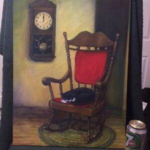 919 - Tableau de la peintre Marie Cournoyer